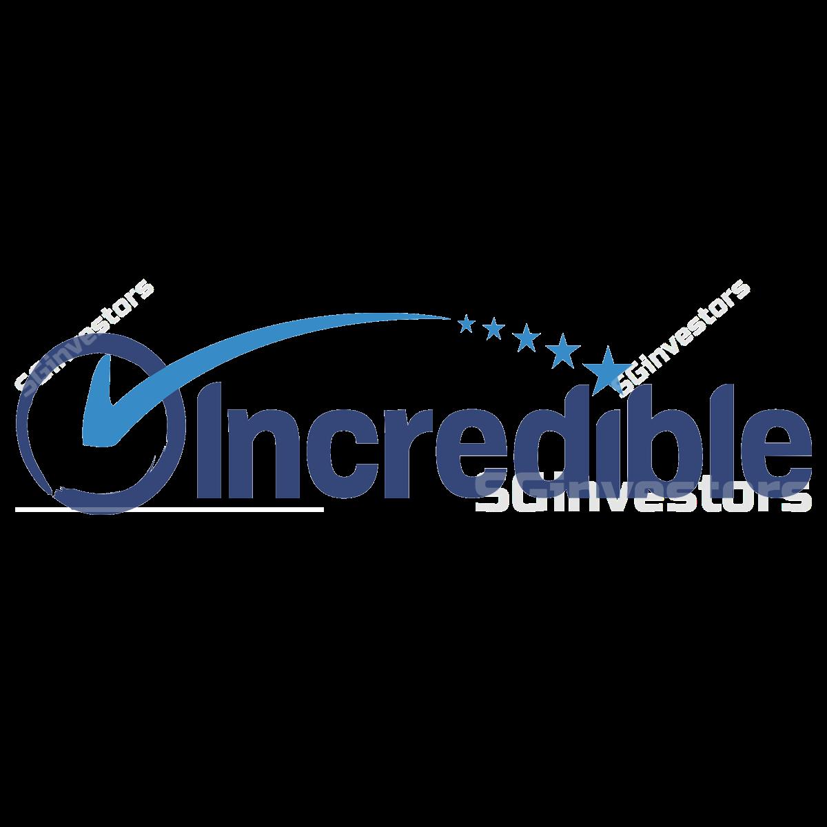 INCREDIBLE HOLDINGS LTD. (SGX:RDR) @ SGinvestors.io