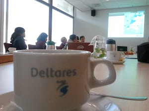 Studi Banding ke Deltares di Kota Delft, Belanda