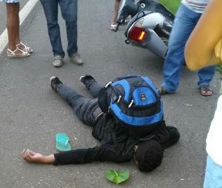 Vargem Grande: Homem é encontrado morto após sofrer acidente de moto na BR-222