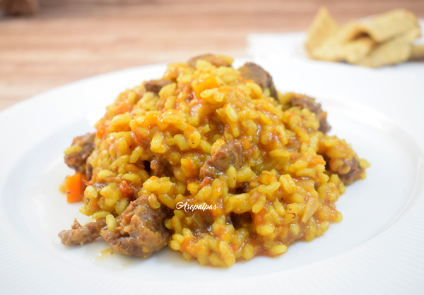 Arroz con Carrillada. Vídeo Receta