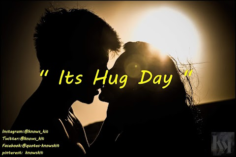 Hug Day 2020 Details With Images And Quotes .