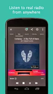 Android Mauritius: TuneIn Radio gets playback & buffering
