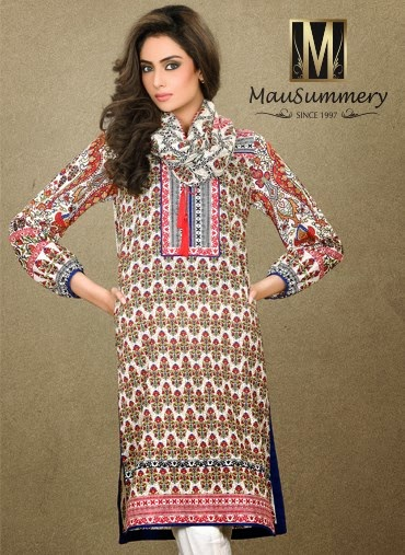 Mausummery S/S Lawn Collection 2015-16 For Women | Fashion