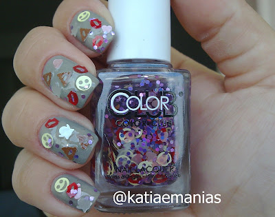 carimbada, CICI&SISI, Color Club, Ella, glitter, La Femme, Nail Plus,