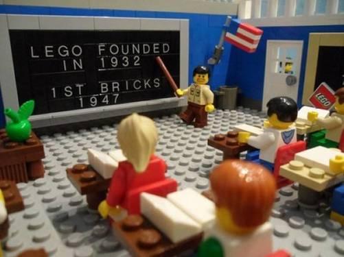 bekerja menjadi profesor lego - gaji besar