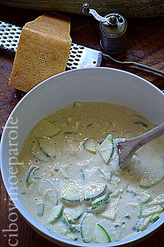 Schiacciata alle zucchine -ricetta