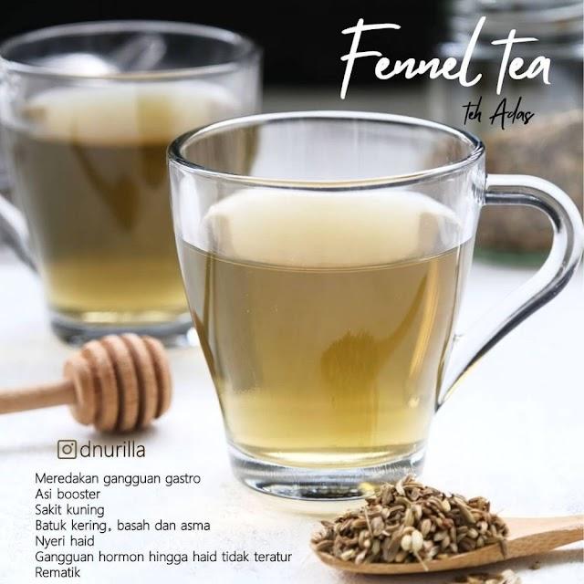 Begini Cara Membuat Fennel tea