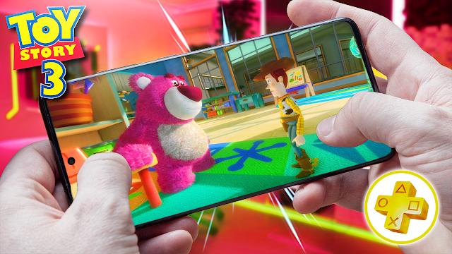 Toy Story 3 Para Teléfonos Android (ROM PSP)