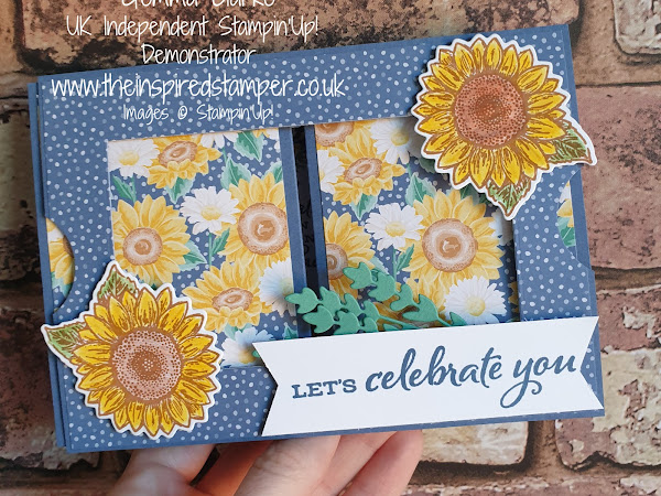 Stampin'Up! Celebrate Sunflowers Theatre Card
