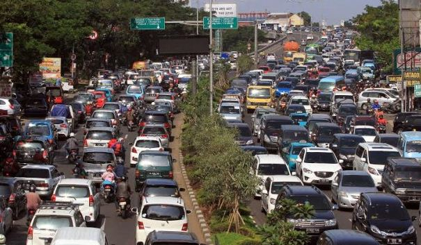 Kemacetan Kota Bandung Lebih Parah dari Jakarta dan Surabaya