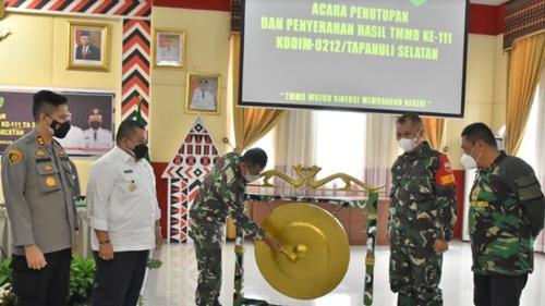 Pangdam I/BB Resmi Tutup TMMD ke 111: Jaga Semangat Kemanunggalan TNI-Rakyat