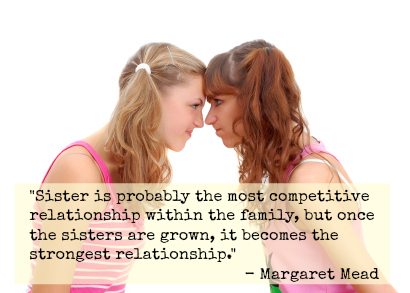 sister is the strongest relationship cute quotes