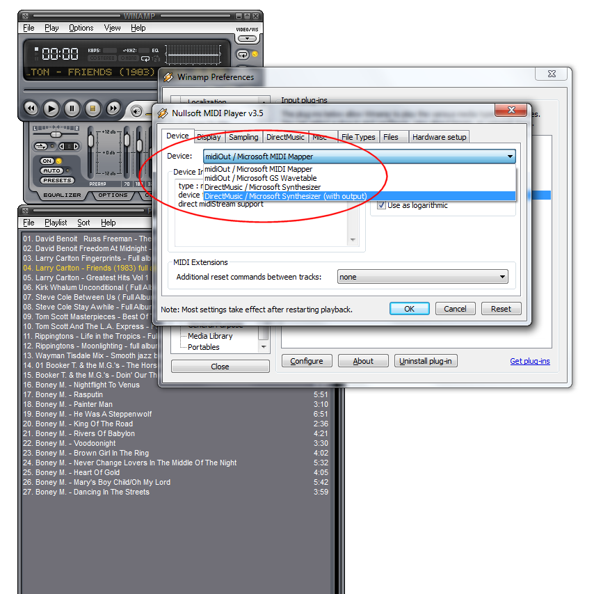 techie troubleshooting blog: How to Fix: Winamp for Windows lowers