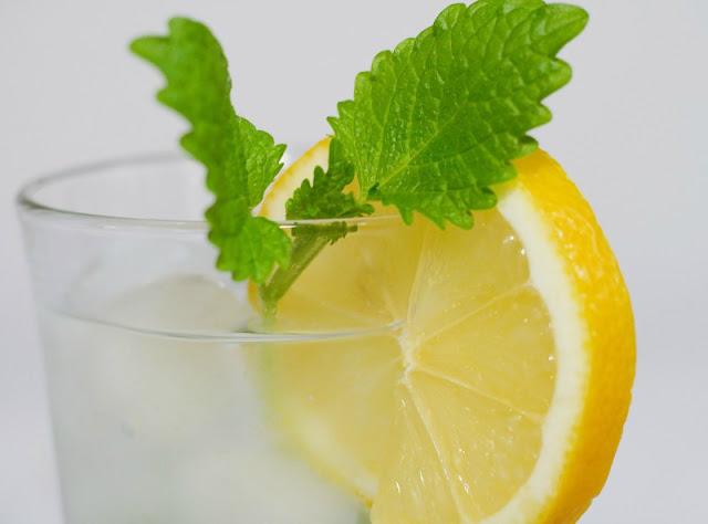 How to make lemon balm tea. Easy-to-make warm lemon balm tea with honey for winter, or ice tea for the summer.
