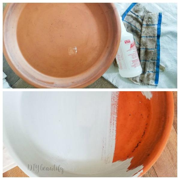 paint terracotta