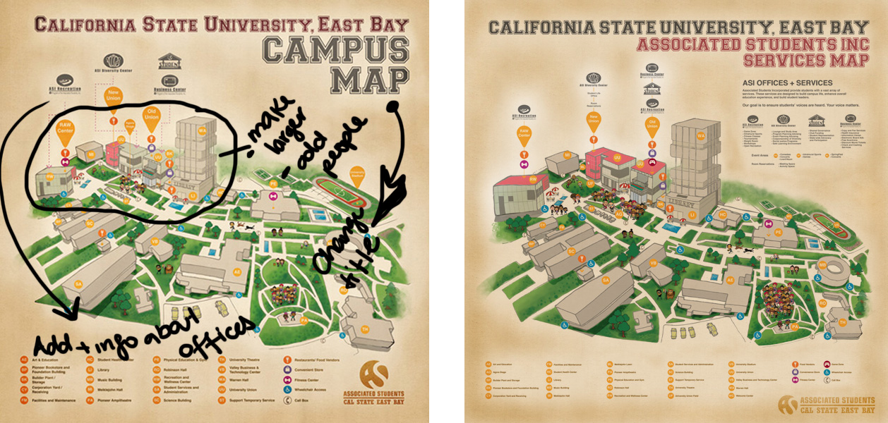 cal state east bay campus map Yummyberries Update Csueb Campus Map cal state east bay campus map