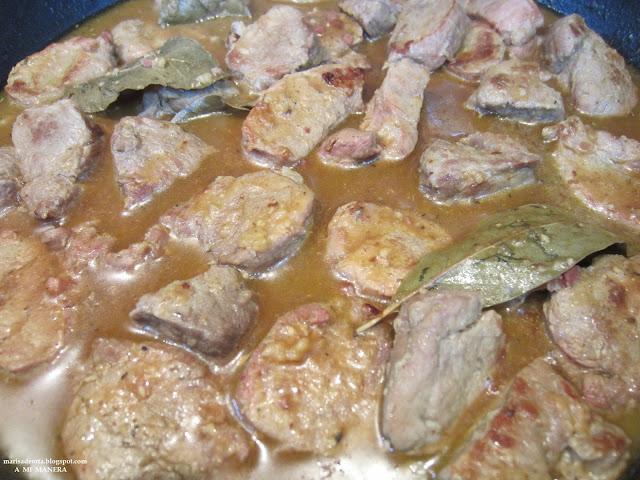 Solomillo En Salsa Serrana