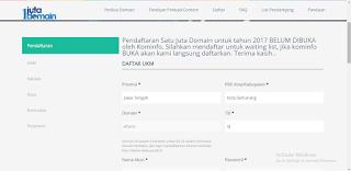 Cara Mendapatkan Domain id Gratis dari 1 Juta Domain