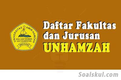 daftar fakultas jurusan Unhamzah