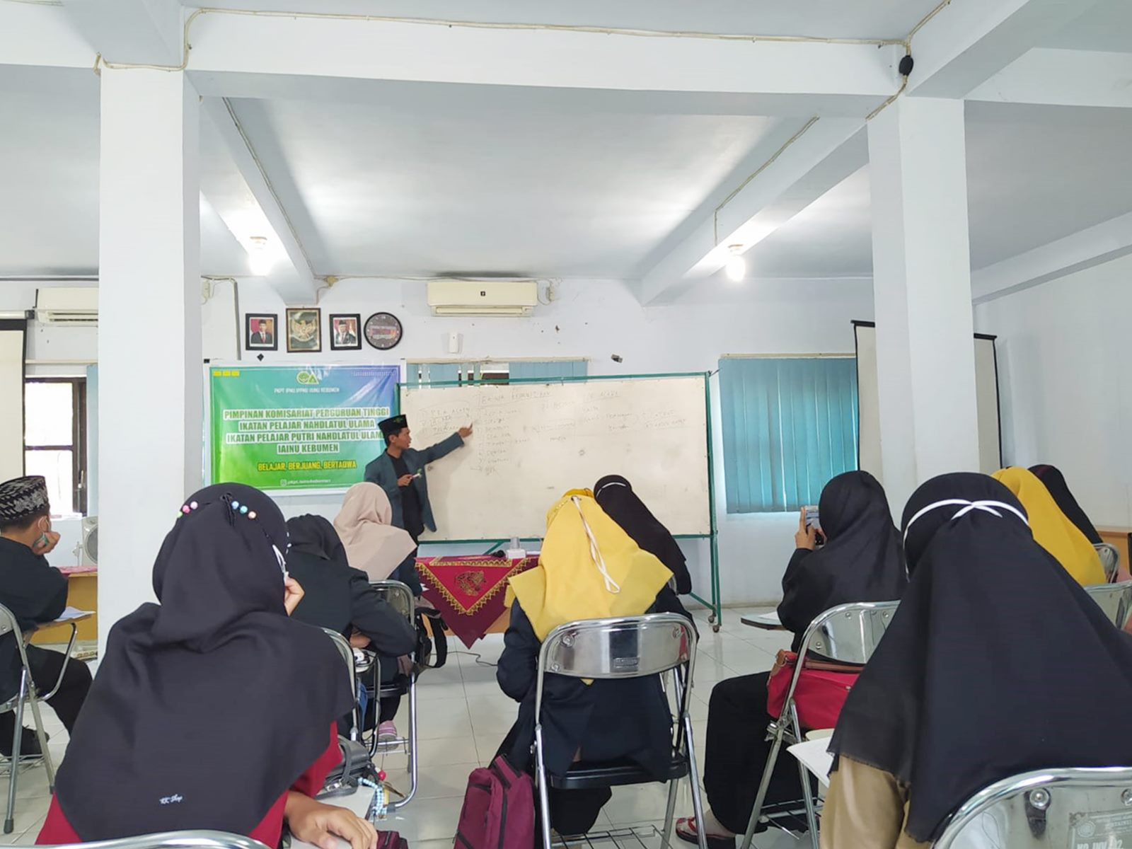 Untuk Sukseskan Program, PKPT IPNU-IPPNU IAINU Kebumen Gelar Pelatihan Fasilitator