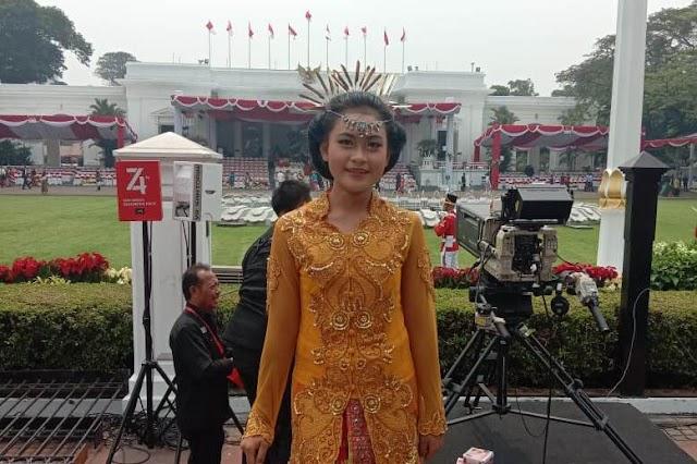Bangga Tampil di Depan Presiden, Cerita Sesil dari Istana Merdeka