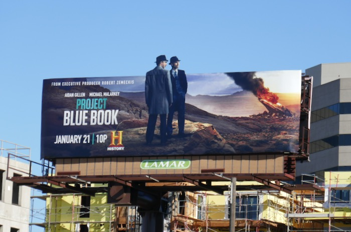 Project Blue Book season 2 billboard