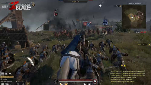 Conqueror's Blade pha trộn nhiều thể loại vào với nhau