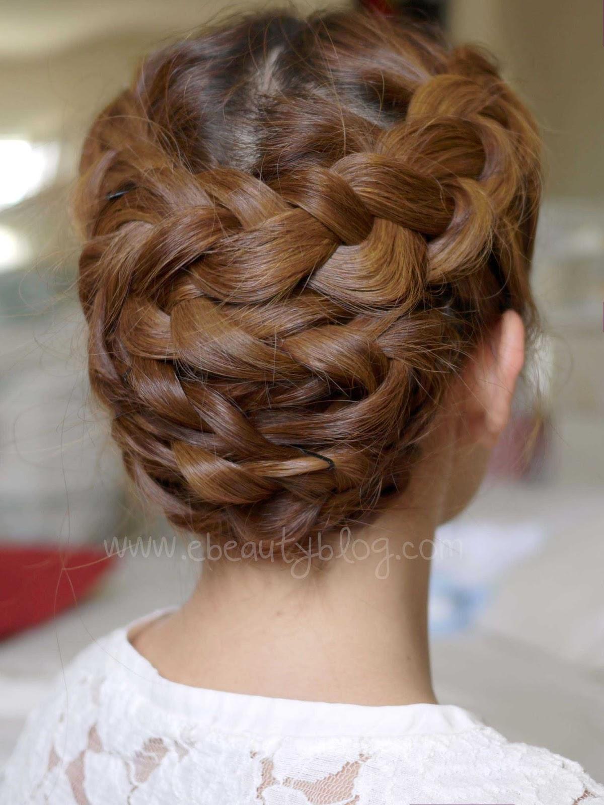 EbeautyBlog com Hair  Tutorial Summer Braided  Updo