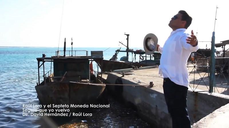 Raúl Lora y Septeto Moneda Nacional - ¨Seguro que yo vuelvo¨ - Videoclip - Dirección: David Hernández - Raúl Lora. Portal Del Vídeo Clip Cubano - 01