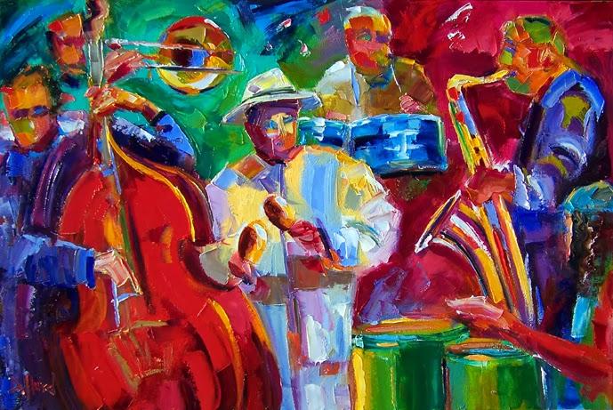Contemporary Artists Of Texas Salsa Original Jazz