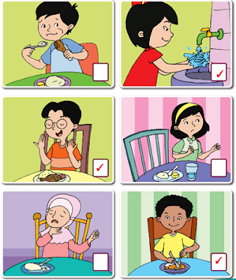 gambar yang sesuai dengan aturan saat makan www.jokowidodo-marufamin.com