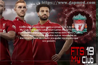 with the latest First Touch Soccer modern updates on Android devices Download FTS xix Mod FTS My Club v3.02.5 Apk Data Obb