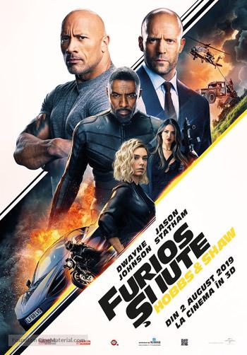 Fast and Furious Presents Hobbs and Shaw 2019 Dual Audio Hindi HQ HDTC 480p 350MB poster