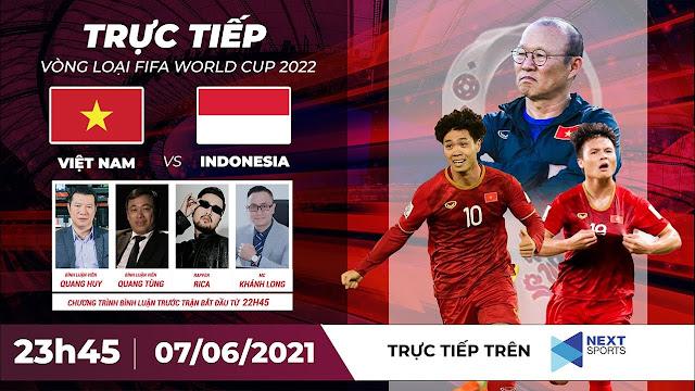 🔴 TRỰC TIẾP | VIỆT NAM - INDONESIA | VÒNG LOẠI WORLD CUP 2022