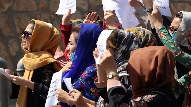 Συγκρούσεις στην Καμπούλ σε διαδήλωση για τα δικαιώματα των γυναικών