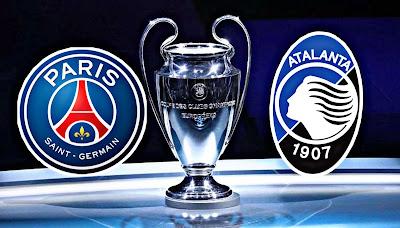 توقيت مباراة أتالانتا و باريس سان جيرمان في دوري الأبطال والقنوات والتطبيقات الناقلة