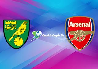 نتيجة مباراة ارسنال و نوريتش سيتي اليوم الاربعاء 1-7-2020 في الدوري الانجليزي الممتاز