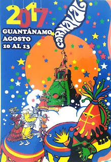 Cartel Carnaval Guantánamo 2017