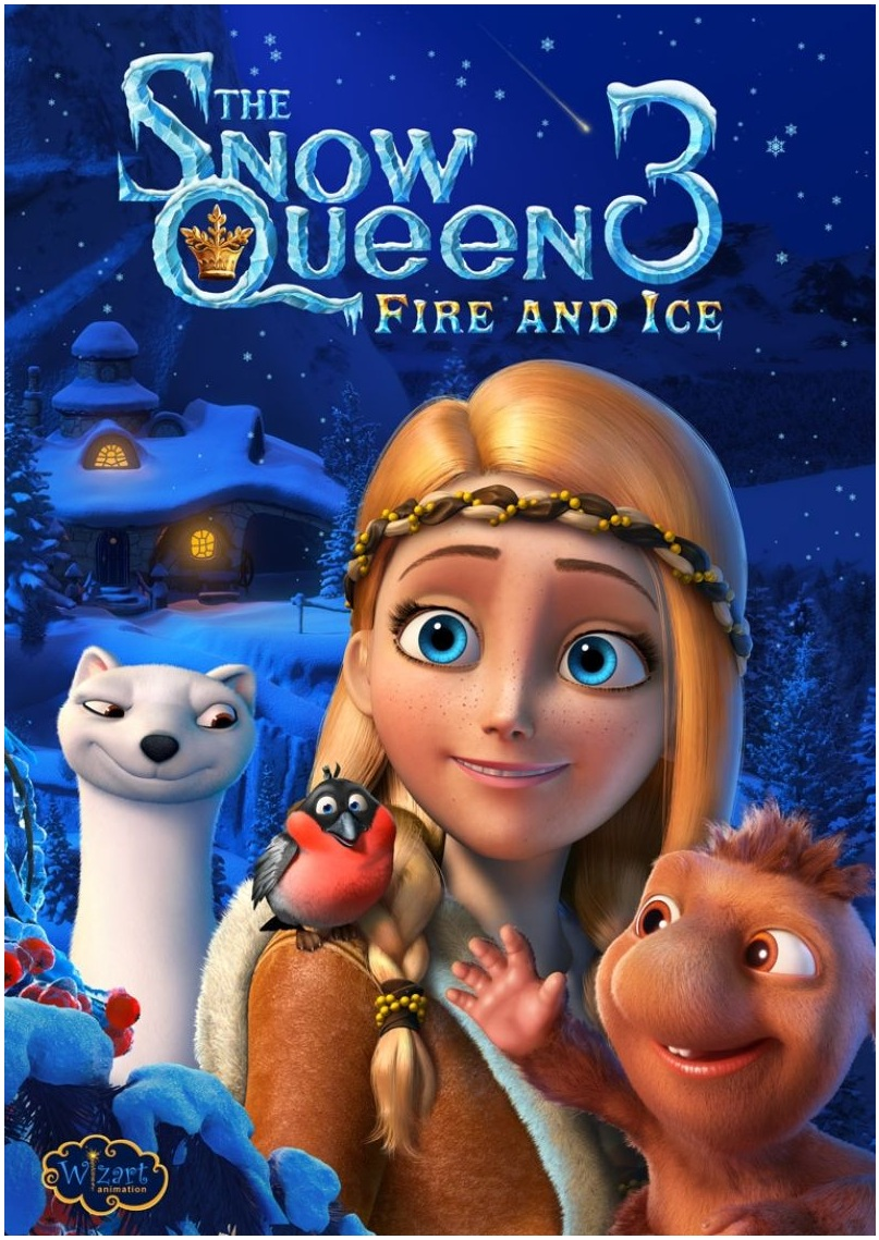 And no it is not frozen rip off since the first movie in the saga premiered in 2012 a year ahead of it the third part will play in european