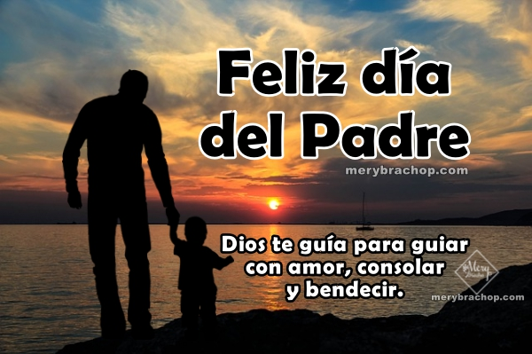 Bonitas frases cristianas para el día del padre, mensajes cortos para papá con hijo, imágenes para feliz dìa de los padres
