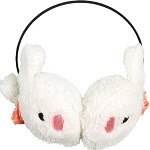 Image: Winter Cute Rabbit Earmuff Ear Muff Warmer