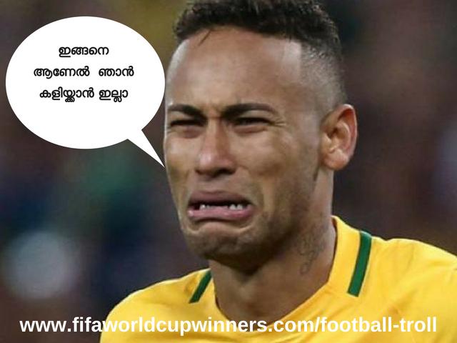 Neymar trolls-football troll