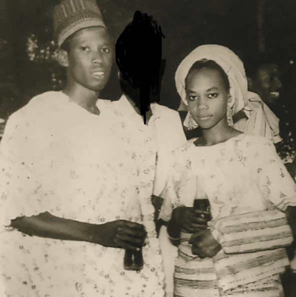 Legacy photograph of Governor Ganduje and his better half Hafsat Umar Ganduje