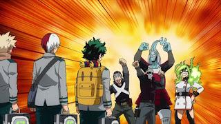 ヒロアカ 5期アニメ   エンデヴァー事務所 サイドキック    Endeavor's Agency   僕のヒーローアカデミア My Hero Academia