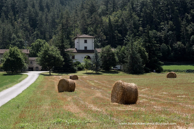 typowa toskańska posiadłość