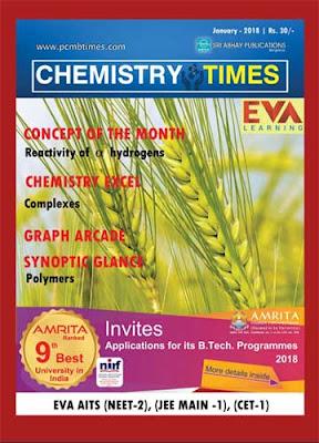 Chemistry Times January 2018