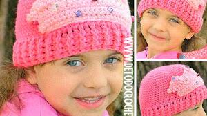 Gorro Crochet de Princesa / Paso a paso