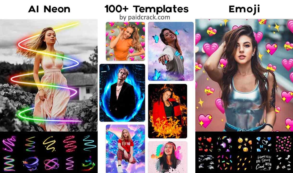 Neon Photo Editor - Filters, Collage Maker Pro Mod Apk 1.143.14