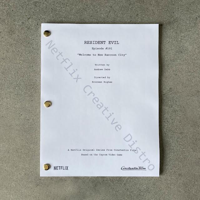 Resident Evil, la sceneggiatura del primo episodio della serie Netflix