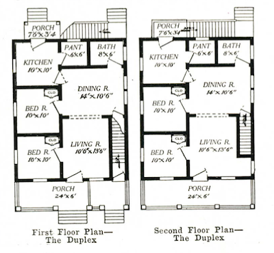aladdin duplex floor plan 1916 catalog